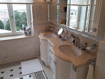 Столешницы для ванной комнаты в Санкт-Петербурге ГК ХОМИКС